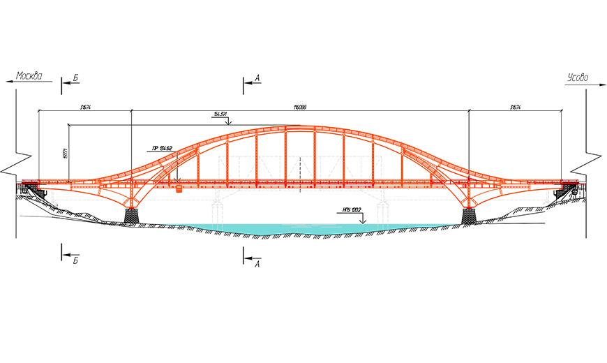 Пролетное строение моста через