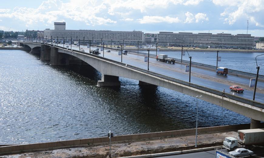 Сооружение нового моста через
