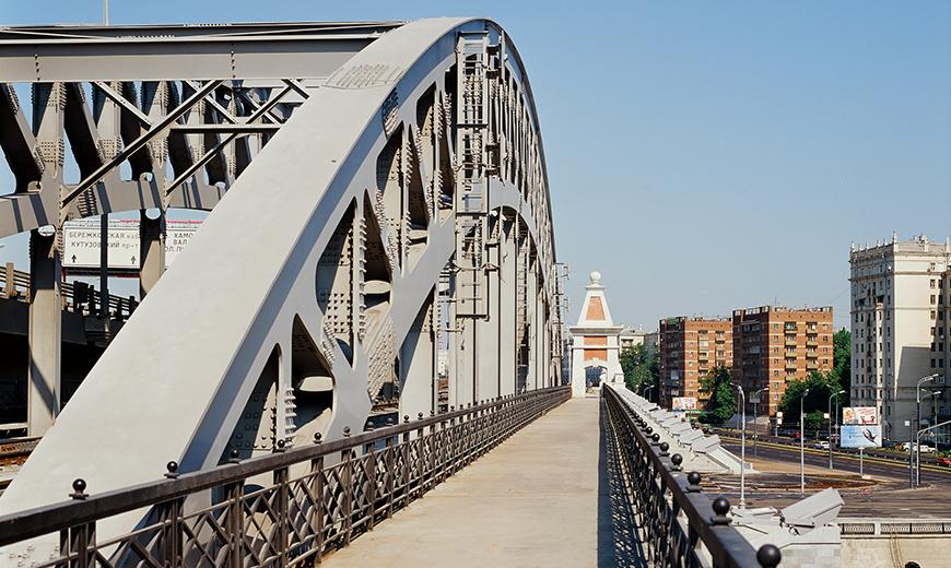 Новый двухпутный мост по схеме