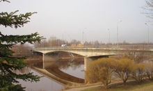 Reconstruction of the October Bridge in Pskov City