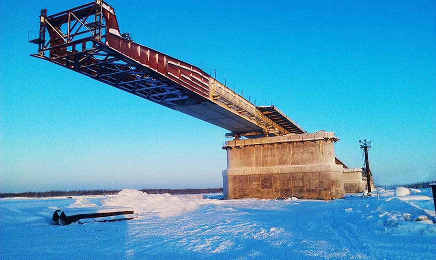 Надым фото моста