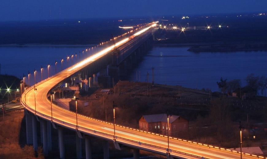 мост в хабаровске через амур фото